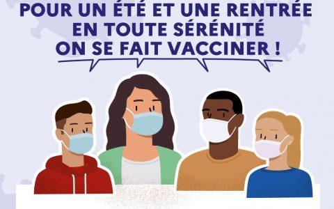 on se vaccine pour un été et une rentrée en toute sérénité